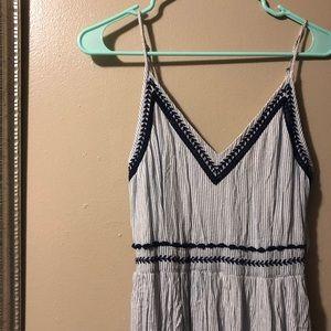 Japna embroidered maxi dress